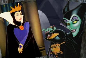 The Queen and Maleficent